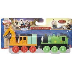 Fisher-Price Thomas the Train Wooden Railway Oliver and Oliver Train