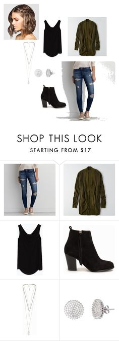 """""""Untitled #92"""" by lolocan on Polyvore featuring American Eagle Outfitters, Zara, Nly Shoes, Pieces and Mia Sarine"""