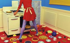 TOILETPAPER was founded in 2010 by Maurizio Cattelan and Pierpaolo Ferrari with the art direction of Micol Talso as a picture-based magazine. Domestic Goddess, Italian Artist, Character Illustration, Kitsch, Art Direction, Toilet Paper, Old School, Editorial Fashion, Ferrari