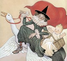 Mother Goose Nursery Rhymes - not as nonsensical and innocent as you think