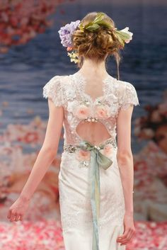 2013 wedding dress by Claire Pettibone An Earthly Paradise bridal collection Beauty