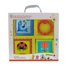 Tag Along Books Set by Cottage Door Press, Multicolor