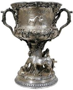 Gorham Sterling Silver Trophy | 'The Horseman Cup' | C. 1894 | September 2006 | Friday Sale