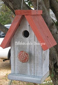 Reclaimed Barnwood Birdhouse,nautical Birdhouse,beach Birdhouse,distressed Rustic Birdhouse, Primitive Birdhouse, Tallahatchie Designs http://www.amazon.com/dp/B00RLRLBJY/ref=cm_sw_r_pi_dp_v-WPub0MNCEZ6