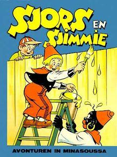 Sjors en Sjimmie voordat het niet meer mocht :-) Ik heb er in ieder geval altijd van genoten. Vintage Comics, Vintage Toys, Good Old Times, Sweet Memories, My Memory, Comic Strips, Cartoon Characters, Childhood Memories, Childrens Books