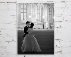 Paris Photography Lovers at the Louvre No.2 Black by MerakiPaper, $18.00
