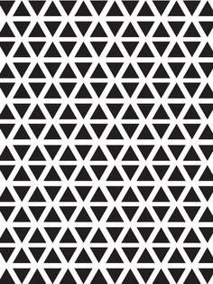 Dreieck Art Print by Karen Hofstetter | Society6