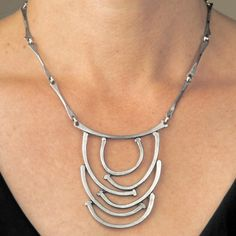 Nails River Necklace