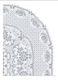 Picasa Web Albums: Filet crochet tablecloth or doily depends on how big you make it.