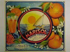 "Naranjas ""Marisol"".  Alzira."