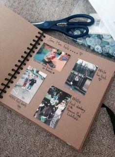 Page 6 journal friend scrapbook, diy scrapbook и scrapbook f Scrapbook For Best Friend, Couple Scrapbook, Travel Scrapbook, Diy Scrapbook, Scrapbook Ideas For Couples, Scrapbook Albums, Scrapbook Ideas For Boyfriend, Scrapbook Ideas For Beginners, Cute Birthday Gift