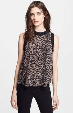 Elizabeth and James 'Vivi' Silk Tank available at #Nordstrom