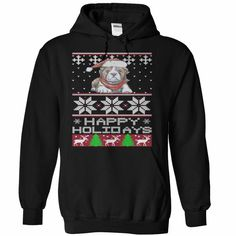 Bulldog Sweater T-Shirts, Hoodies. ADD TO CART ==► https://www.sunfrog.com/Holidays/Bulldog-Sweater-Black-Hoodie.html?id=41382