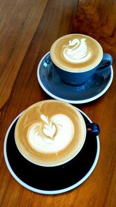 """Coffee Latte & Flat White"", Simetri, Jakarta"