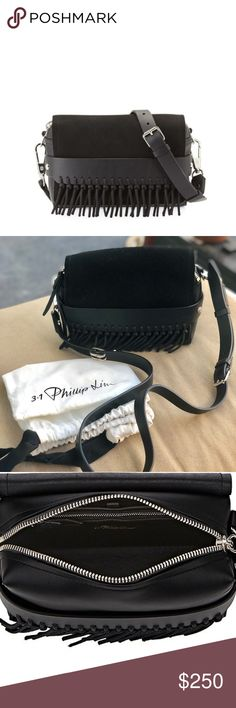 32bd7934366 3.1 Phillip Lim black leather Bianca Only used once so it looks almost 100%  new