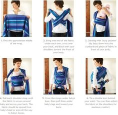 baby wrap carrier front cross carry | ... Wrap - Babyroo - baby slings, wraps and baby carriers - FREE UK