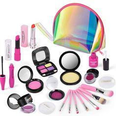 Little Girl Toys, Little Girl Gifts, Toys For Girls, Makeup Games For Kids, Kids Makeup, Makeup Toys, Makeup Set, Kids Make Up Set, Birthday Gifts For Girls