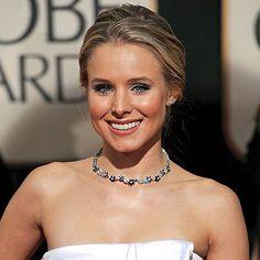 Kristen Bell in Van Cleef & Arpels - Best Golden Globes Jewelry - InStyle.com