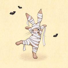 Halloween rabbit Baby Bunnies, Funny Bunnies, Cute Bunny, Rabbit Art, Bunny Rabbit, Belle And Boo, Bunny Care, Little Bunny Foo Foo, Baby Animals