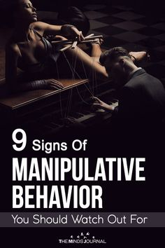 9 Signs Of Manipulative Behavior You Should Watch Out For Verbal Abuse, Emotional Abuse, Psychology Today, Psychology Facts, Toxic Relationships, Relationship Tips, Parenting For Dummies, Parenting Styles, Jewelry Making