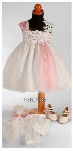 3 pc Flowergirl vestido niña encaje Couture niño vestido de boda niña de las flores de boda bebés vestido alta costura niña vestido único bebé