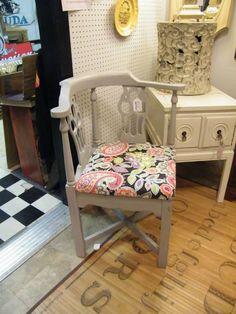 mid century corner chair $175 Corner Chair, Mid Century, Living Room, Furniture, Home Decor, Decoration Home, Room Decor, Sitting Rooms, Living Rooms