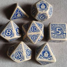 Ancient Egypt dice set perfect for themed campaign
