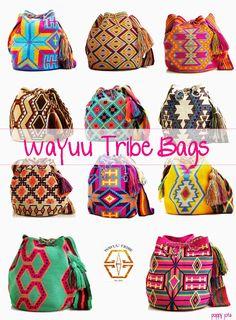 *Poppy Jota* Blog de moda, tendencias, belleza... desde Barcelona: Hipnóticos: Wayuu tribe bags Tapestry Bag, Tapestry Crochet, Knit Crochet, Surfergirl Style, African Inspired Fashion, Types Of Bag, Trendy Accessories, Purses And Handbags, Crochet Patterns