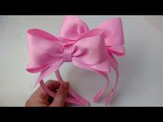 Diy Hair Bows, Making Hair Bows, Princess Hair Bows, Princess Hairstyles, Diy Flowers, Diy Hairstyles, Lana, Ribbon, Bridal