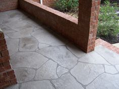 Thin Brick Paver For Front Porch Residential Thin Brick