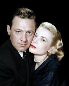 William Holden and Grace Kelly - The Bridges at Toko-Ri (1954)