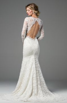 Courtesy of Wtoo by Watters Wedding Dresses; Wedding dress idea.