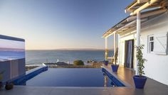 It's flower season in the West Coast, all the more reason to venture to one of its seaside towns – specifically, to the Abalone Pool Villas in Paternoster. Seaside Towns, Atlantic Ocean, West Coast, Wind Chimes, Cosy, Backdrops, Villa, Spa, Home And Garden