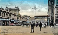 The New Eastern Market opened 22 December 1879 and was demolished in 1960. It was located at the south-west corner of Bourke and Exhibition ...http://www.walkingmelbourne.com/forum/viewtopic.php?t=401
