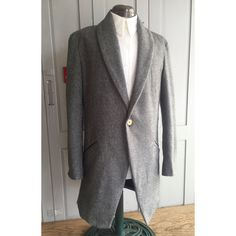 0 Winter Coat, Herringbone, Winter Fashion, Menswear, Blazer, Wool, Shawl, Cuffs, Jackets
