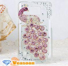 phoenix Samsung Galaxy S2 casepeacock galaxy S2 by Veasoon on Etsy, $21.99