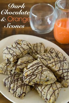 Orange and dark chocolate buttermilk scones from Joy the Baker ...