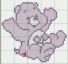 Care Bear perler bead pattern