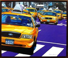 Yellow cab, New York Taxi, Yellow, Vehicles, Vehicle, Gold, Tools
