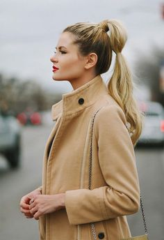 Get your hair off your face and neck while the weathers warm with these 12 easy, breezy looks.