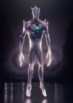 Realistic Alien X by leonardovincent
