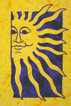 Sunshine quilt pattern