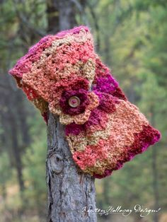 Sweet 'n Sassy 1 Skein Cowl - free crochet pattern at Kirsten Holloway Designs