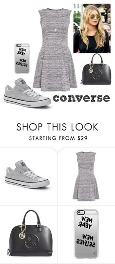 """Untitled #195"" by fatyhnrqz94 ❤ liked on Polyvore featuring Converse, Cameo Rose, GUESS, Casetify and Shashi"