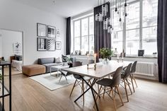 Scandinavian Apartment by Stylingbolaget | HomeAdore #arquitectura #interiorismo