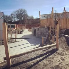 After 9 months of work, the new school ground of Sint-Paulusschool is finished. Now it's time for the green to grow strong and the kids to enjoy their new facilities. The New School, Primary School, It Is Finished, Landscape, Upper Elementary, Scenery, Elementary Schools, Corner Landscaping