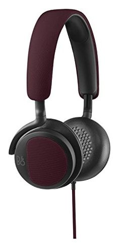 Amazon.com offers the Bang & Olufsen Beoplay H2 On-Ear Headphone – Deep Red for $117.54.