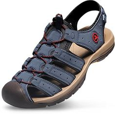 AT-M103-NV_300_12 D(M) Atika Men's sport sandals tesla Cairo trail outdoor sandal water shoes aqua running slide boots - This product is a hybrid sandal which borrowed concepts from outdoor shoe to protect toes completely in wild activities while keeping comfort and pliability Specialized on rugged terrains and ravines Reinvented traditional strap sandal offers you better traction, padding and safety. It is truly... - http://ehowsuperstore.com/bestbrandsales/sports-outdoors/a