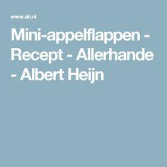 Mini-appelflappen - Recept - Allerhande - Albert Heijn