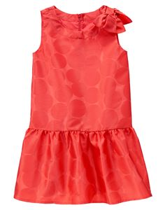 Dotted Bow Dress at Gymboree (Gymboree 3-12y)